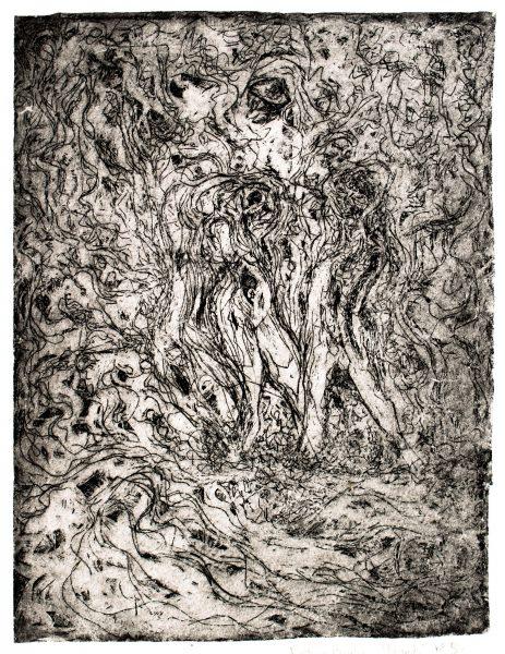 Noués - 43 x 33 cm - gravure