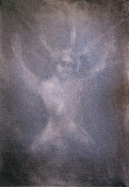 trace - 46 cm x 33 cm - huile sur toile